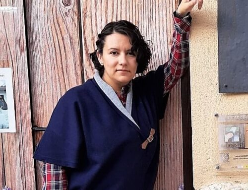 Marta, responsable del museo de los aromas