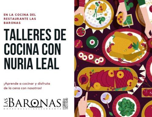 Talleres de cocina en Las Baronas