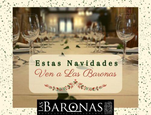 5 motivos para celebrar estas Navidades en Las Baronas